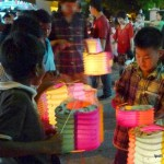 Happiness is a lighted lantern