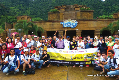 Perak tourism news volume 10 - Ping Sien Si Chinese temple