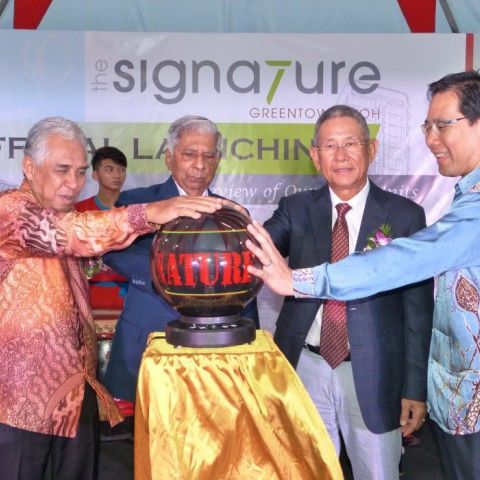 Launch of The Signature @ Greentown Ipoh