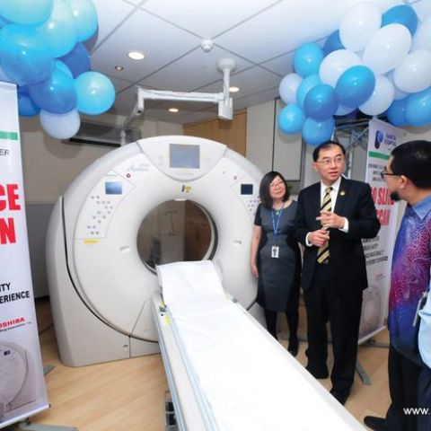 Perak's First 160 Slice CT Scan