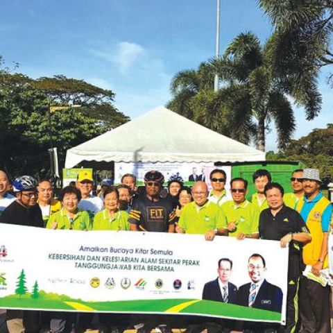 KOHIJAU Launched Recycling Reward Point System in Taiping