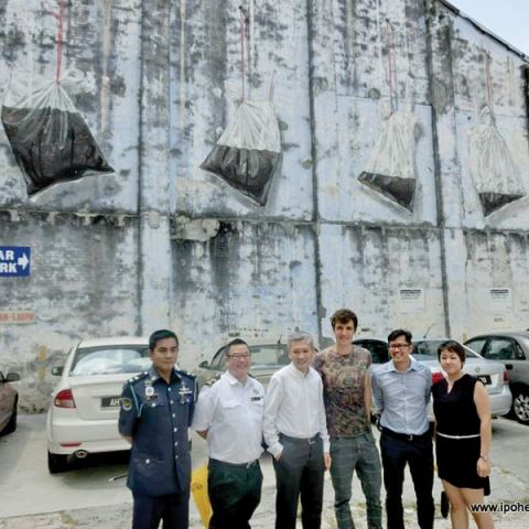 Old Town Ipoh Gets 'Artsy'