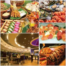 Festive Buffet Dinner At Dome Restaurant, Meru Valley Resort Ipoh