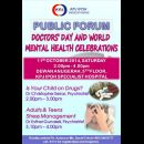 Doctors\\\' Day and World Mental Health Celebrations (11 Oct 2014)