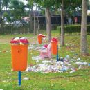 Keeping playgrounds clean and safe is not child's play