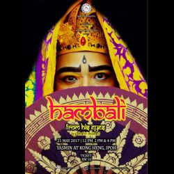 The Hambali from His Eyes: a Balinese Dance Performance (22 May 2017)