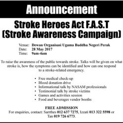 Stroke Heroes Act Fast (28 May 2017)