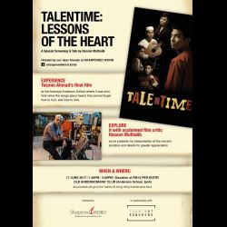 Yasmin Ahmad Film - 'Talentime: Lessons of the Heart' (17 Jun 2017)