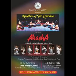 'Rhythms of The Rainbow' featuring Akash 4 (6 Aug 2017)