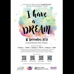 ABBA-Themed Charity Musical: 'I Have a Dream' (16 Dec 2017)
