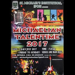 Michaelian Talentime 2017 (7-9 Jul 2017)