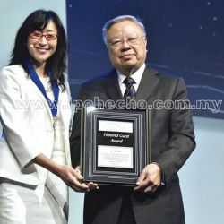 Award for Dato' Dr YC Lee