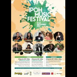 Ipoh Music Festival (15-17 Sep 2017)