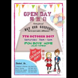 Salvation Army Open Day (7 Oct 2017)