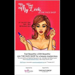First Beauty Workshop for Ladies in Ipoh (14 Oct 2017)