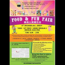 Yayasan Sultan Idris Shah Food & Fun Fair (12 Nov 2017)