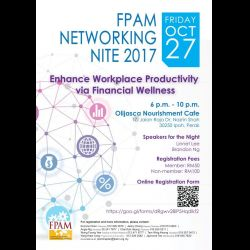 FPAM Networking Nite 2017 (27 Oct 2017)