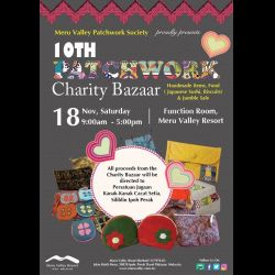 Patchwork Society of Meru Valley Resort 10th Charity Bazaar (18 Nov 2017)