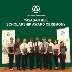 Yayasan KLK Scholarships for Young Malaysians