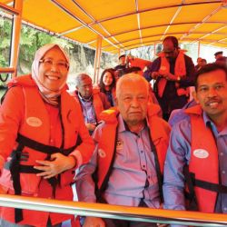 New Boats for Gunung Lang Lake
