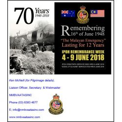 Remembering the Dearly Departed (4-9 Jun 2018)