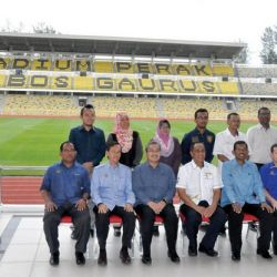 Handing Over of Perak Stadium