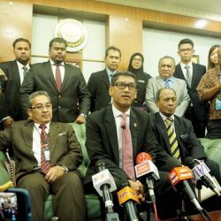 Faizal's First Media Conference