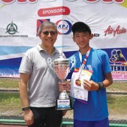 Mitsuki Leong Emerged Tennis Champ