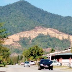 My Say:  Is Kledang Hill Encroachment a 'Test' to PH's Administration?