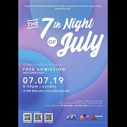 PSPA Singers: The 7th Night of July (7 Jul 2019)
