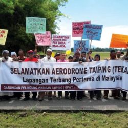 Heritage:  Historic Taiping Aerodrome Sold