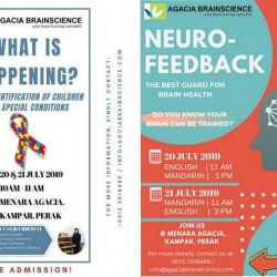 Early Identification of Children with Special Conditions & Neuro-Feedback (20 & 21 Jul 2019)