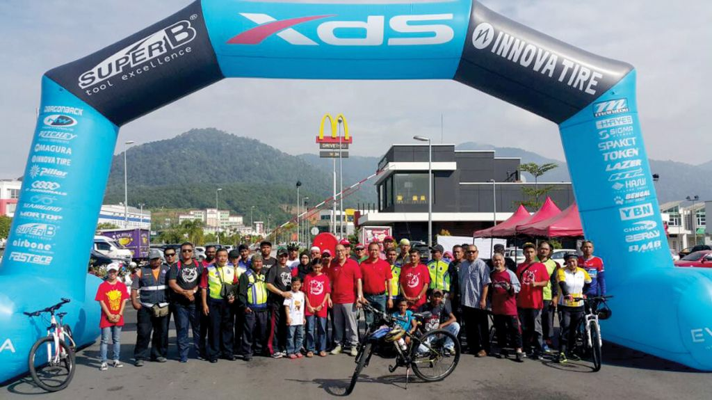 Cycling for a Good Cause