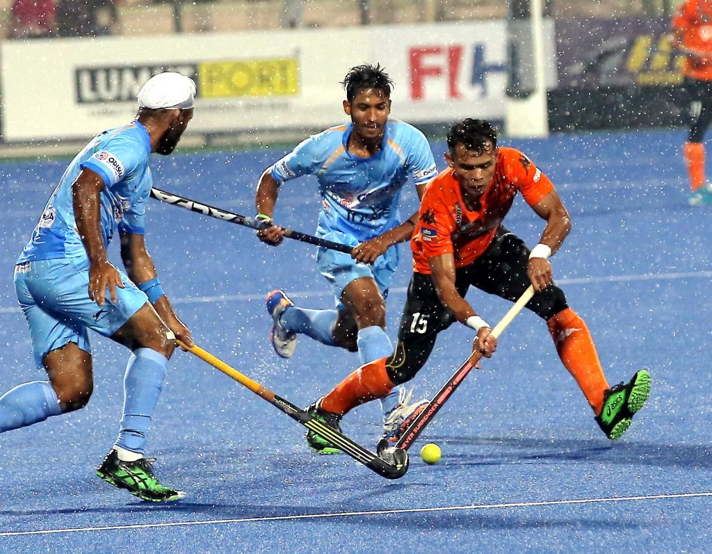 A DRUBBING BY INDIA