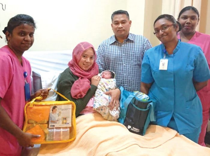 Newborns for Hari Raya