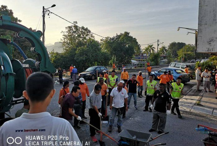 Cleaning Up Ipoh