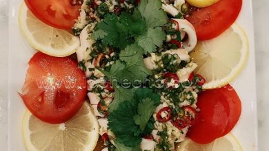 Photo of Recipe: Steamed Squid With Lemon