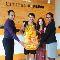 Cititel's First Guests Check In