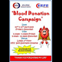 Blood Donation Campaign (10 & 11 Apr 2015)