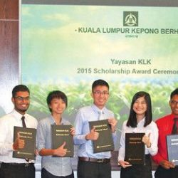 KLK� 38 Years of Providing Scholarships to Deserving Malaysians