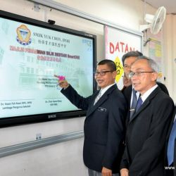 New Smart Boards in Yuk Choy