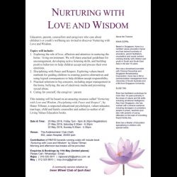 Workshop on 'Nurturing with Love and Wisdom' (20-22 May 2016)