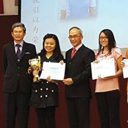 Yuk Choy's Award Day
