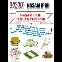 Nasam Ipoh Food & Fun Fair (22 Oct 2016)
