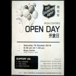 The Salvation Army Open Day (15 Oct 2016)