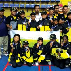 Perak Tennis Teams Win Big at MSSM
