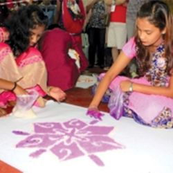 Traditional Games Re-lived at Akshaya 3