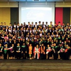 Sunway College's Sixth Graduation