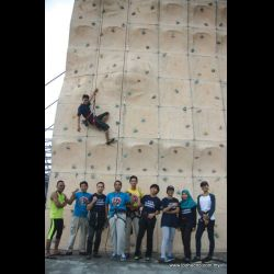 ICC Free Wall Climbing Session