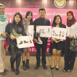 Ipoh Student Shines at Footwear Competition